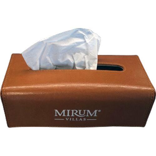 Δερμάτινο κουτί για χαρτομάντηλα