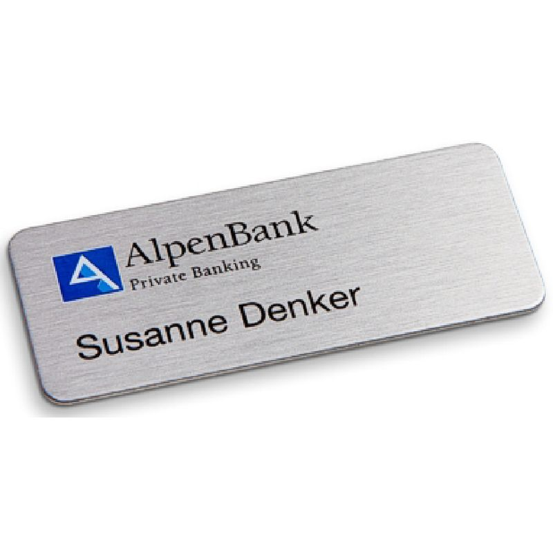 AluContour | Comfort name tag