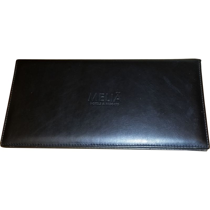 Guest room information holders από δερματίνη