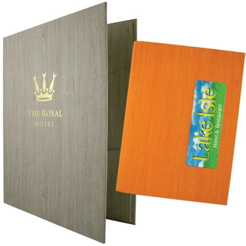 Χάρτονένιο Guest room information holders