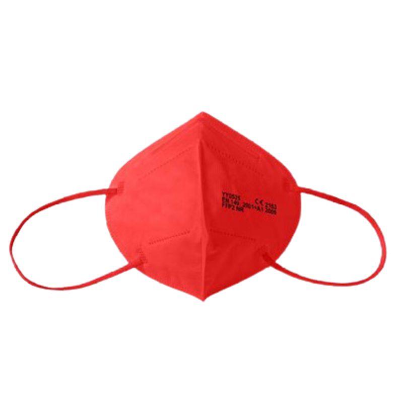 Μάσκα υψηλής προστασίας FFP2 Κόκκινη