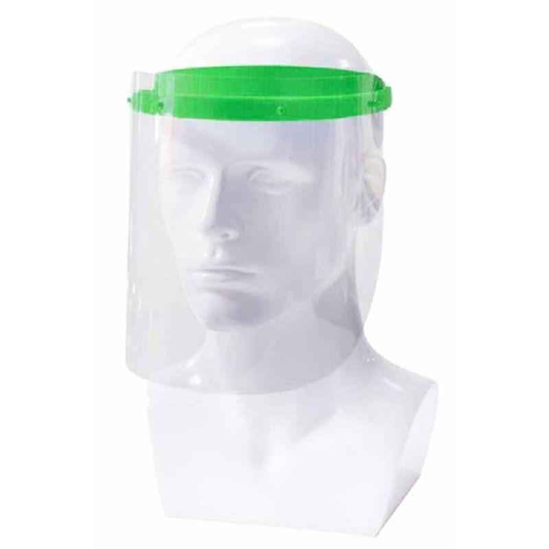 Αντιβακτηριακή Προσωπίδα Προστασίας Πράσινη