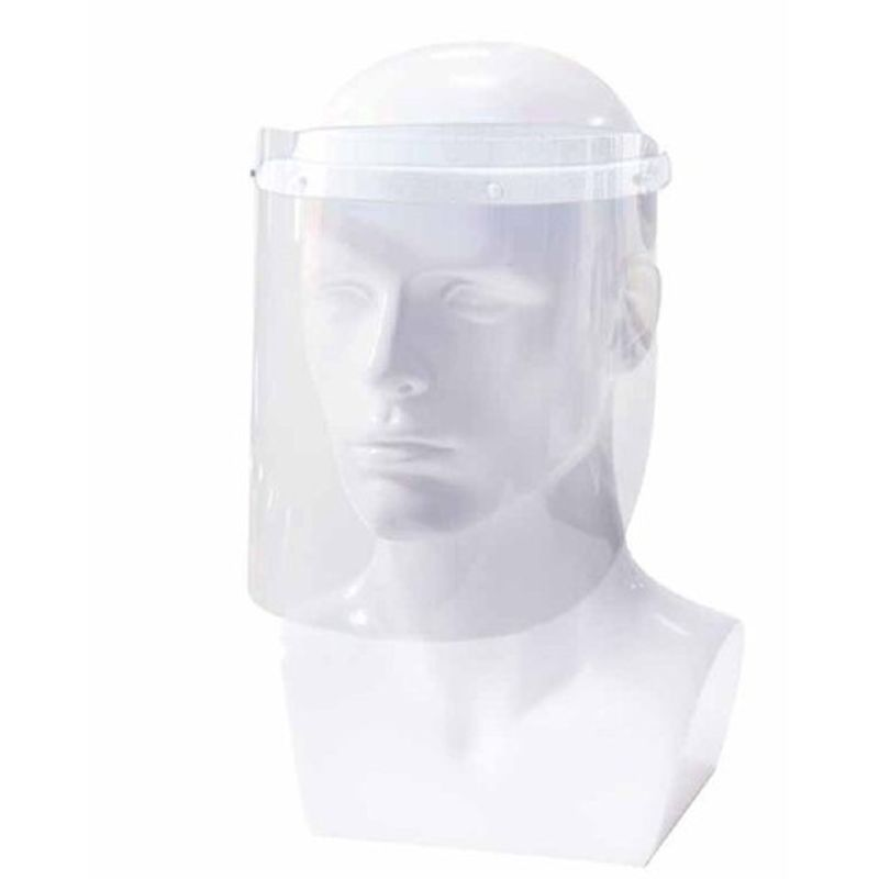 Αντιβακτηριακή Προσωπίδα Προστασίας Άσπρη