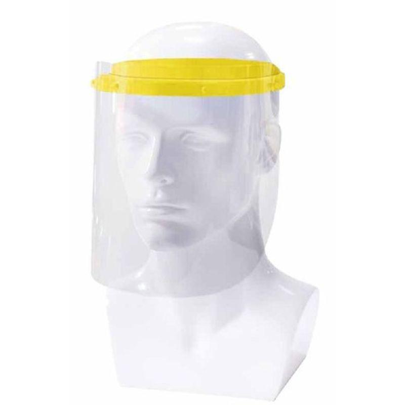 Αντιβακτηριακή Προσωπίδα Προστασίας Κίτρινη