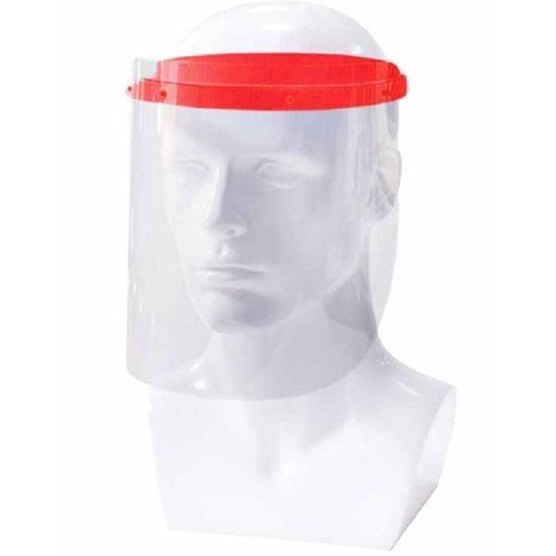 Αντιβακτηριακή Προσωπίδα Προστασίας Κόκκινη