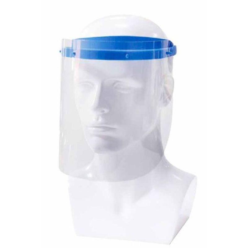 Αντιβακτηριακή Προσωπίδα Προστασίας Μπλε