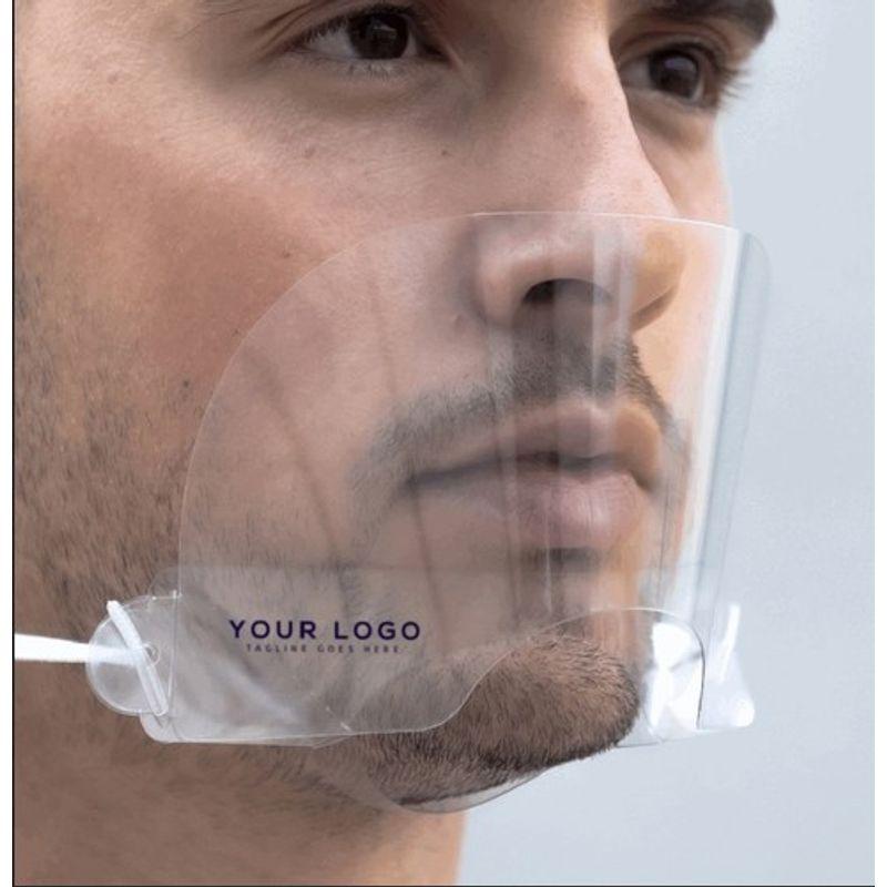 Αντιβακτηριακή Ασπίδα Προστασίας για Μύτη & Στόμα Διάφανη