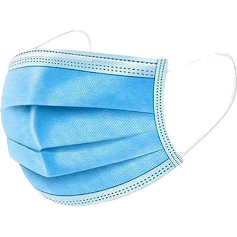 Χειρουργική Μάσκα Προστασίας Προσώπου 3 Στρωμάτων (Μπλέ)