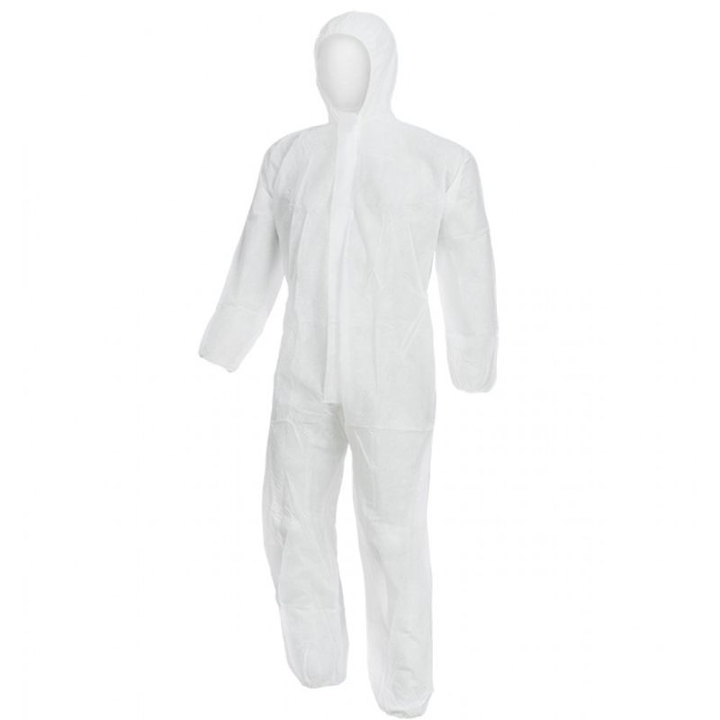 Επαναχρησιμοποιούμενη στολή Προστασίας (Λευκή)