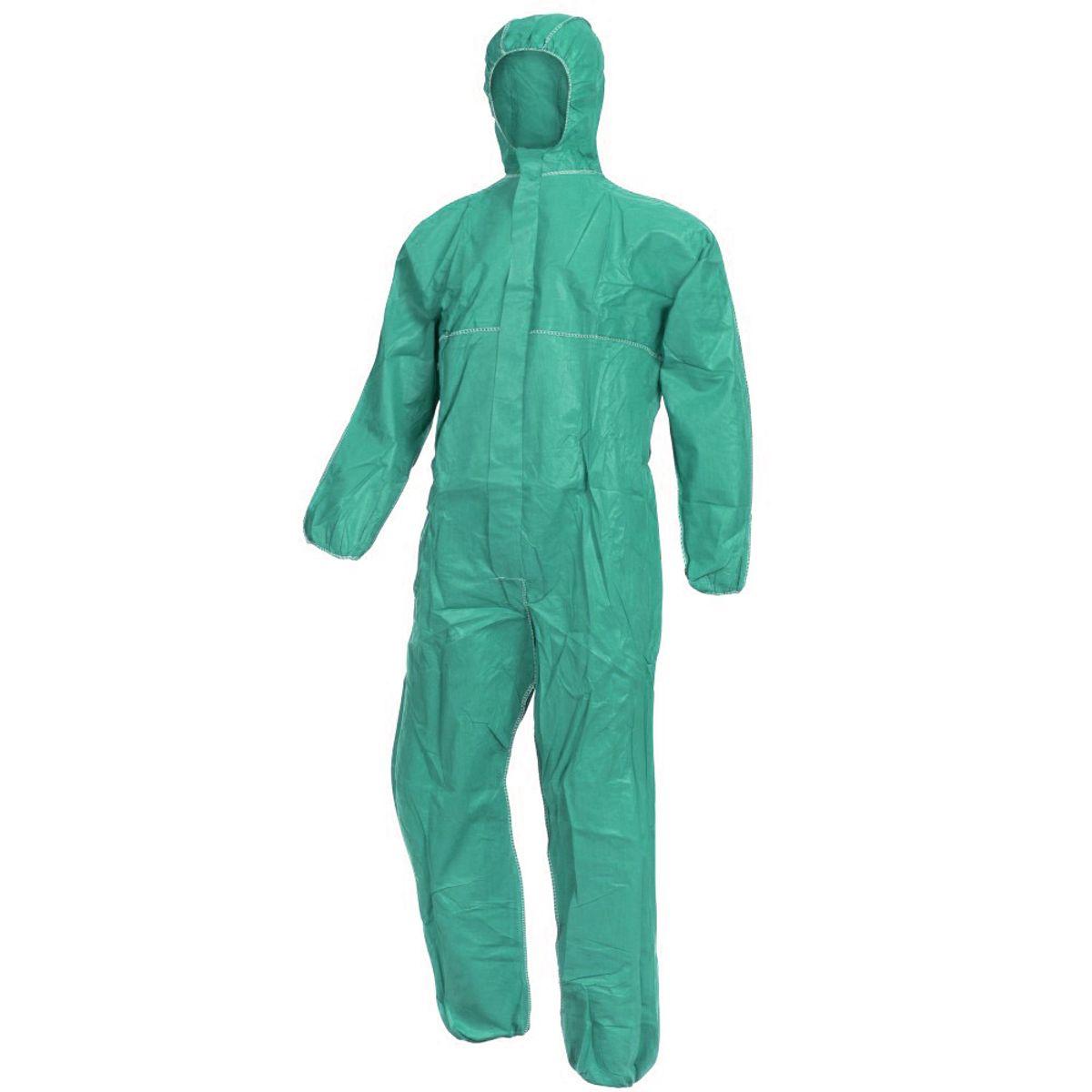 Επαναχρησιμοποιούμενη στολή Προστασίας (Πράσινη)
