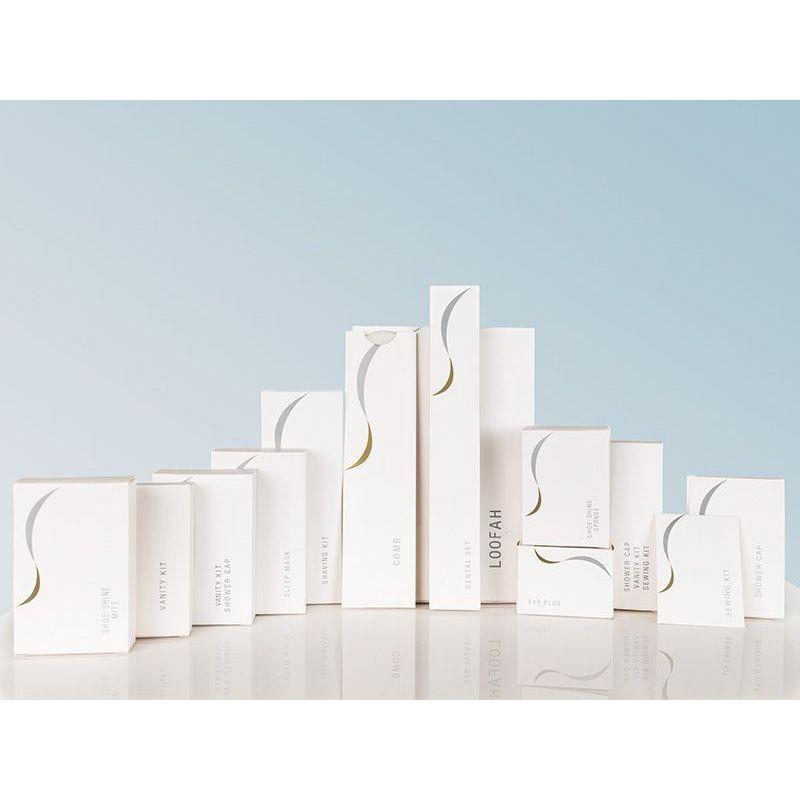 Σειρά Amenities σε λευκή συσκευασία πολυτελείας